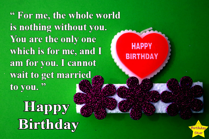 birthday quotes for fiance girl