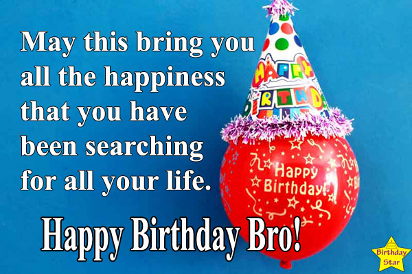 birthday wishes for elder brother in english