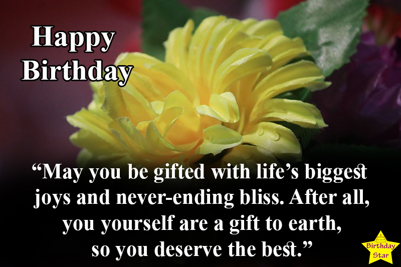 cute birthday images with flowers and quotes