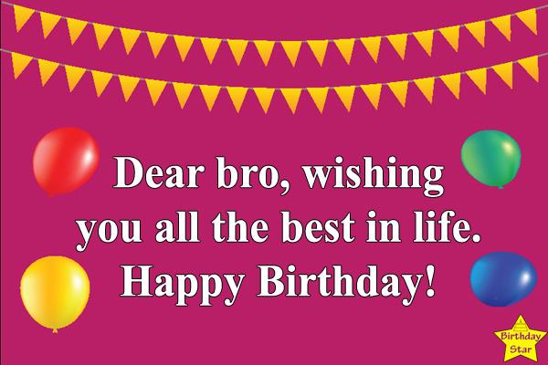 elder brother birthday status