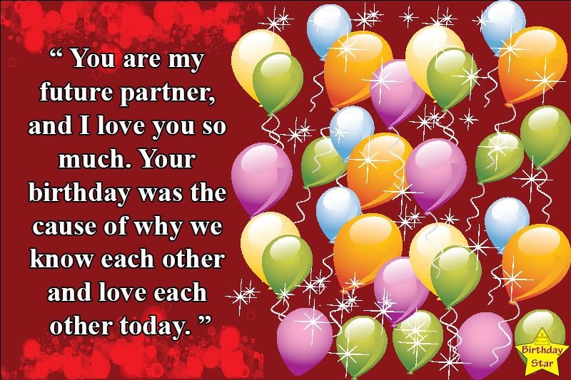 handsome birthday quotes for fiance male