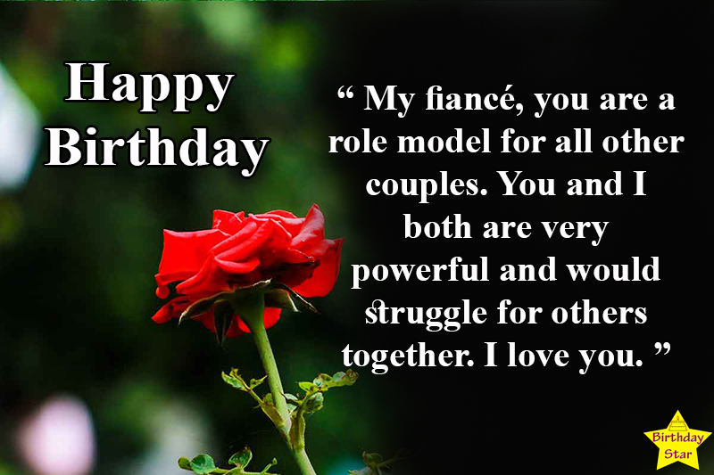 happy birthday quotes for my fiance