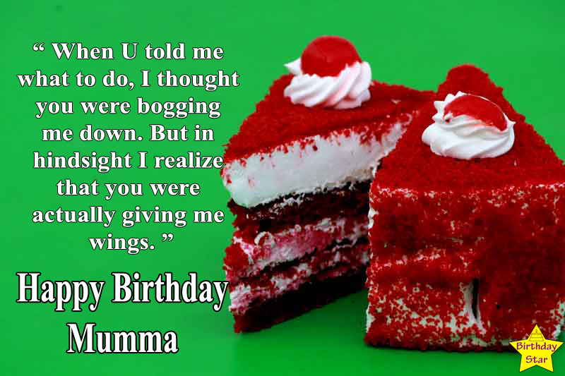 happy birthday cake quotes for best mom