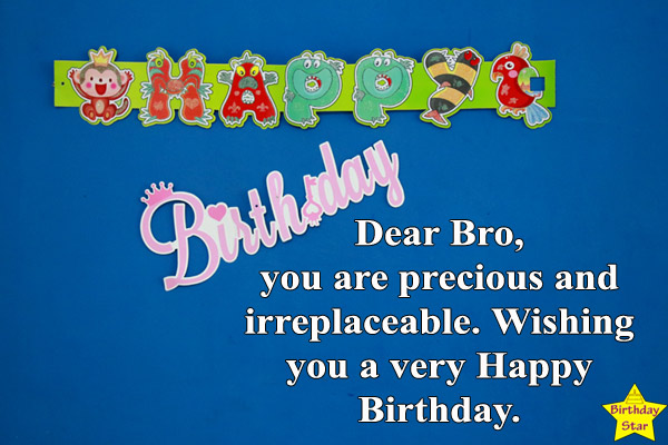 happy birthday quotes for elder brother Images