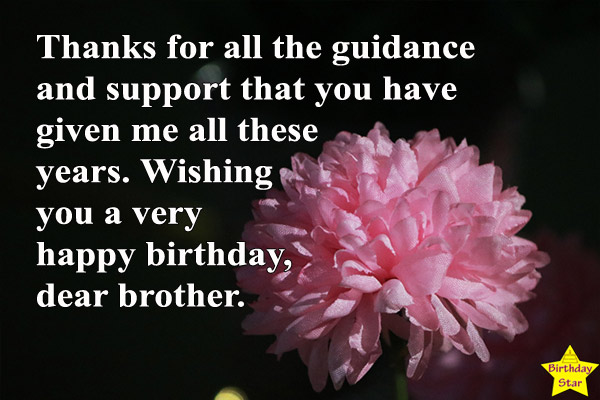 happy birthday quotes for elder brother Pictures