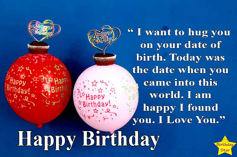 happy birthday quotes for fiance in english