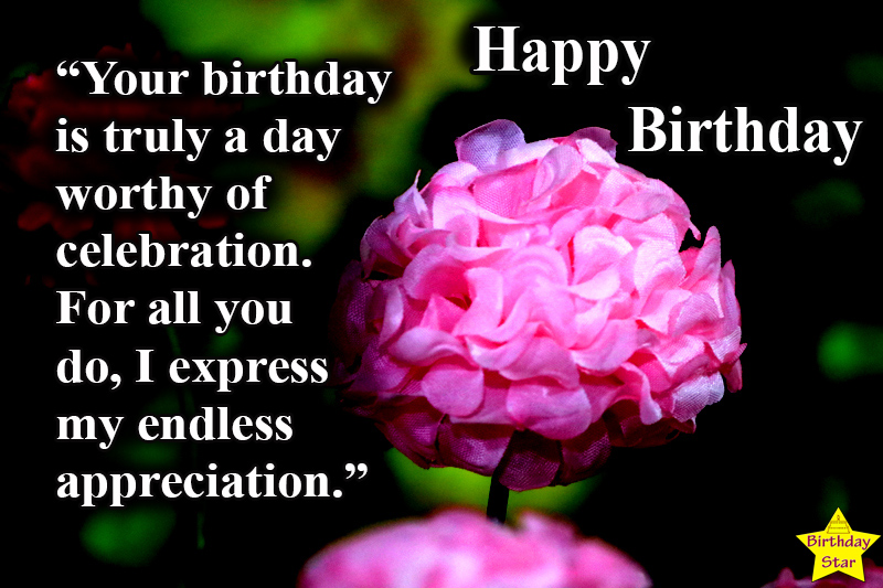 wonderful birthday images with flowers and quotes