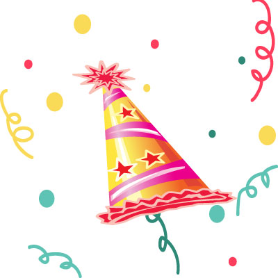 Birthday Cap Clipart