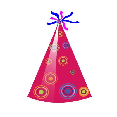Birthday Hat Clipart Marroon