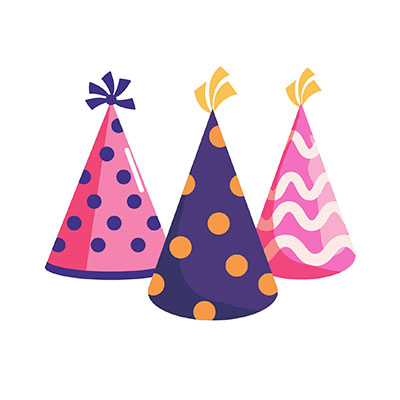 Birthday Hat Clipart Three