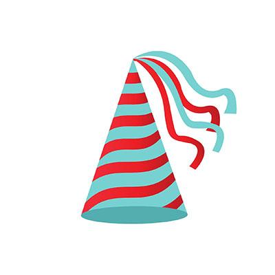 Birthday Hat Clipart fancy