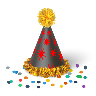 Birthday Party Hat Clipart