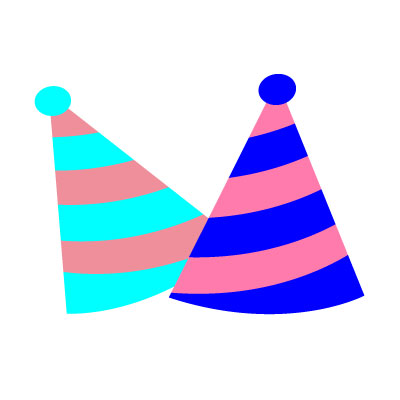 Birthday Two Cap Clipart