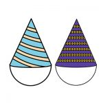 Birthday two Hat Clipart Simple