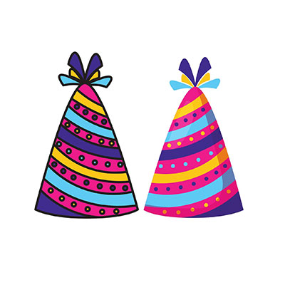 Birthday two Hat Clipart