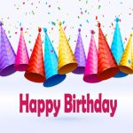 Happy Birthday Hat Clipart Colorful Multi