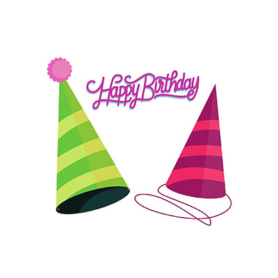 Happy Birthday Hat Clipart Two