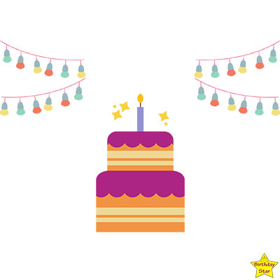 birthday cake clipart easy