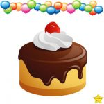 birthday cake clipart without candles