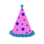 birthday hat clipart No background