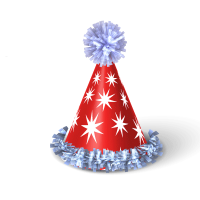 birthday hat png transparent