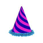 birthday hat transparent