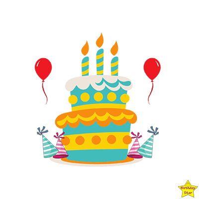 happy birthday cake clipart free