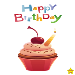 happy birthday cake clipart images