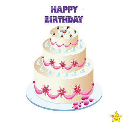 happy birthday cake clipart without candles free