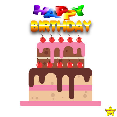 happy birthday cake clipart without candles images