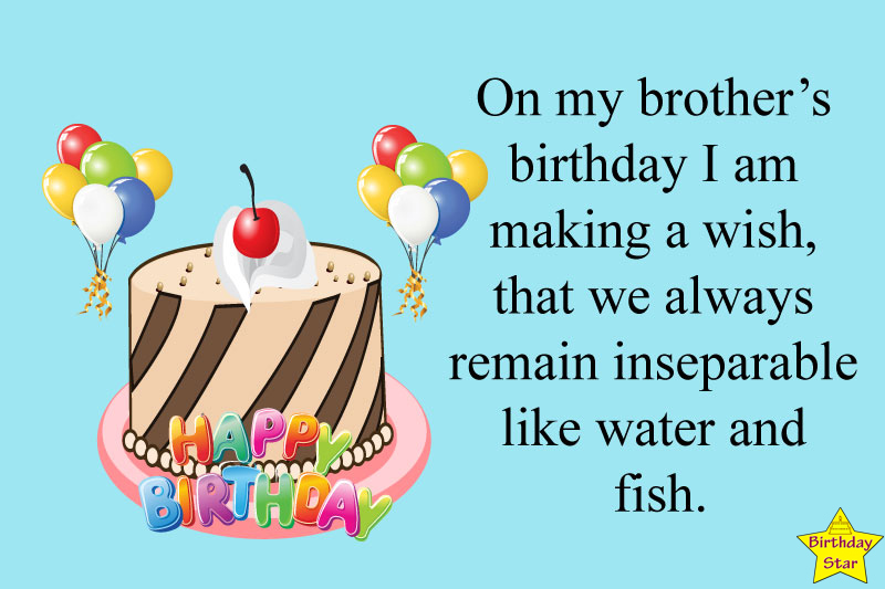 Birthday wishes for brother elder
