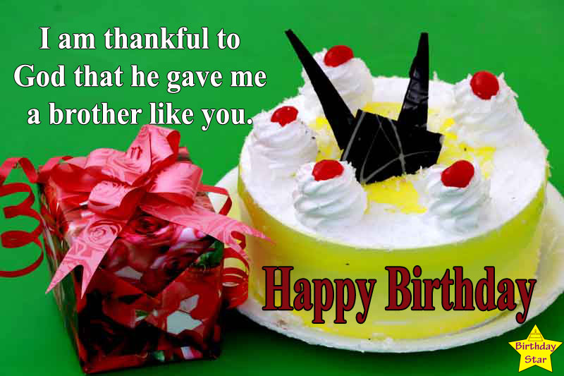 birthday quotes for brother like friend