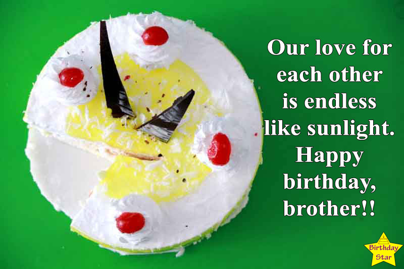 birthday wishes quotes for brother son