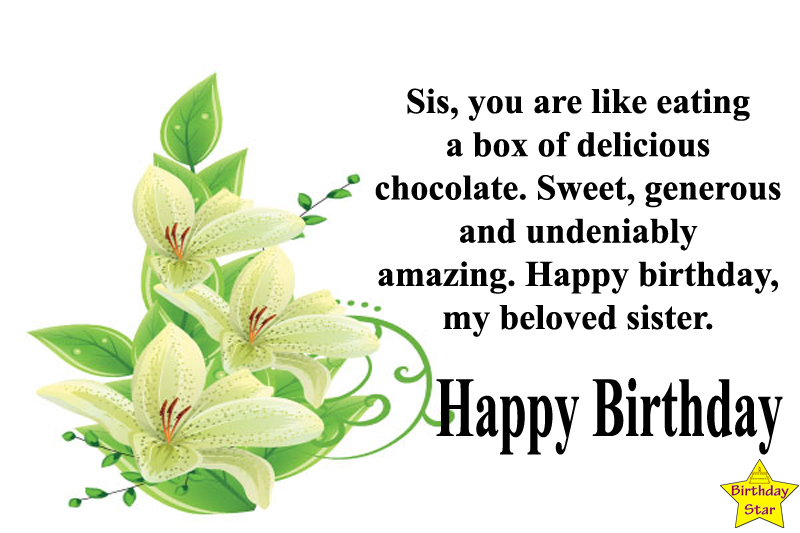 birthday wishes for sister friend quotes