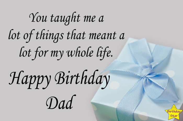 Birthday wishes for a dad who is no more