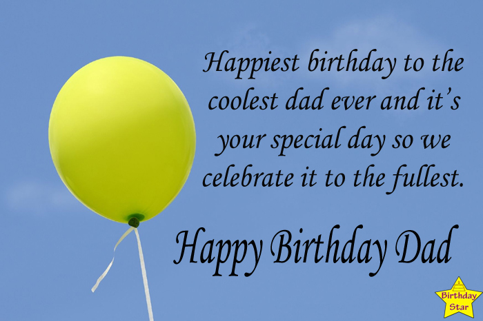 Birthday wishes for dad from a married daughter