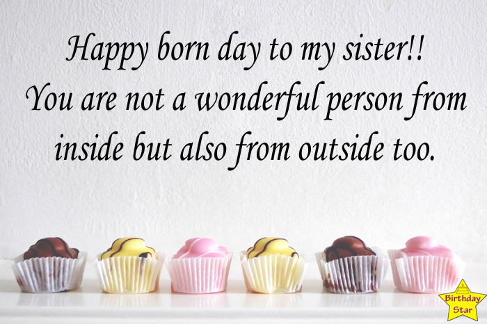 Birthday wishes for mentor sister