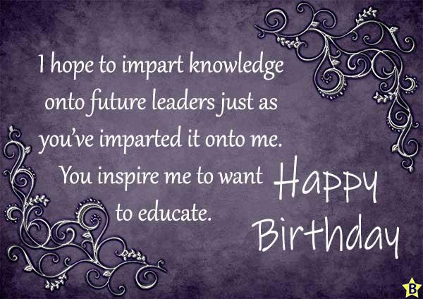 Happy Birthday Teacher Photos