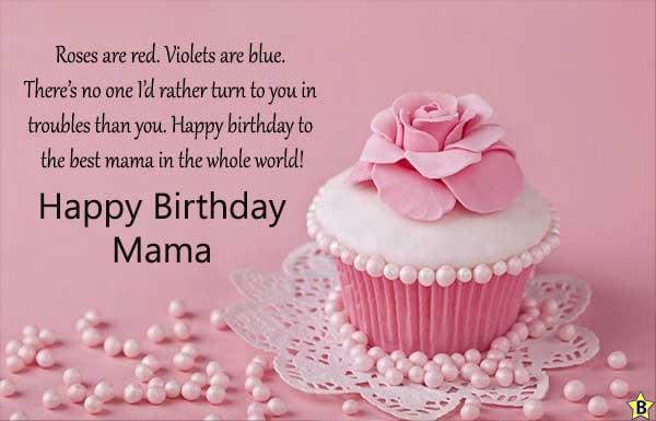 Happy birthday Mama photo
