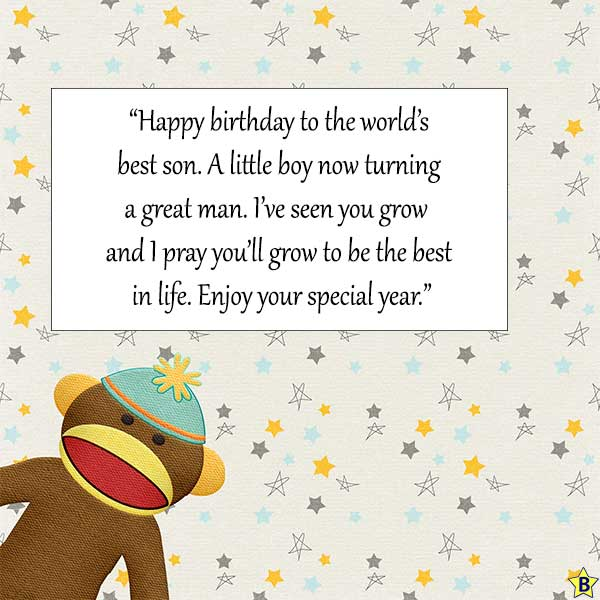 happy birthday Quotes for baby boy