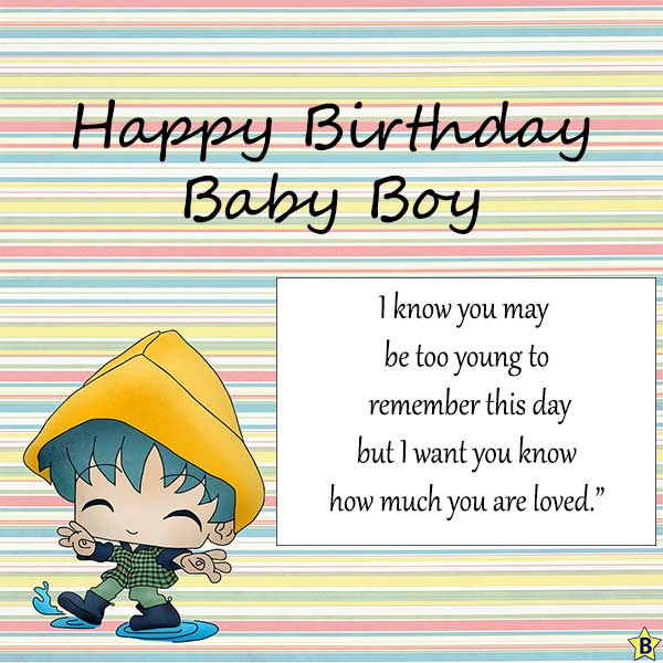 happy birthday images for baby boy