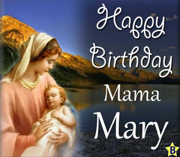 Happy Birthday mama-mary images