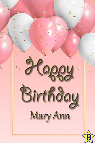 Happy Birthday mary-ann images