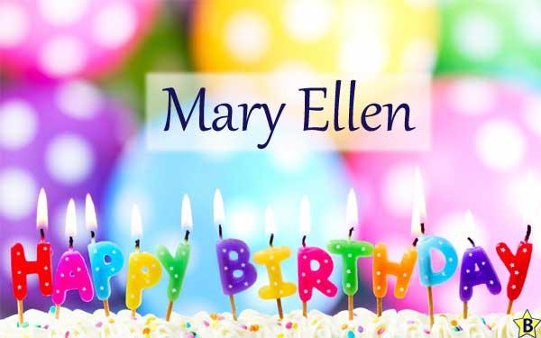 Happy Birthday mary-ellen images