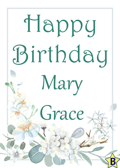 Happy Birthday mary-grace images