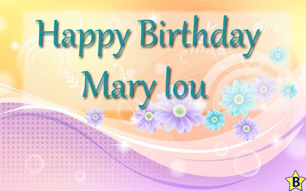 Happy Birthday mary-lou images
