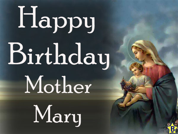 Happy Birthday mother-mary images