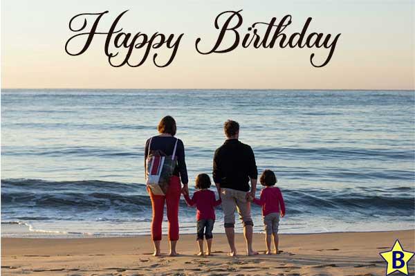 Happy birthday beach images family
