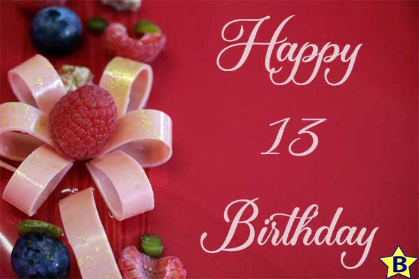 happy 13th birthday images free download