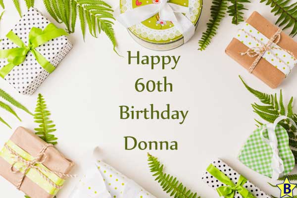 happy 60th birthday donna images